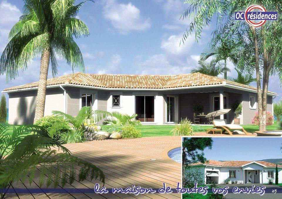 Maisons + Terrains du constructeur OC RESIDENCES • 120 m² • PUYLAURENS
