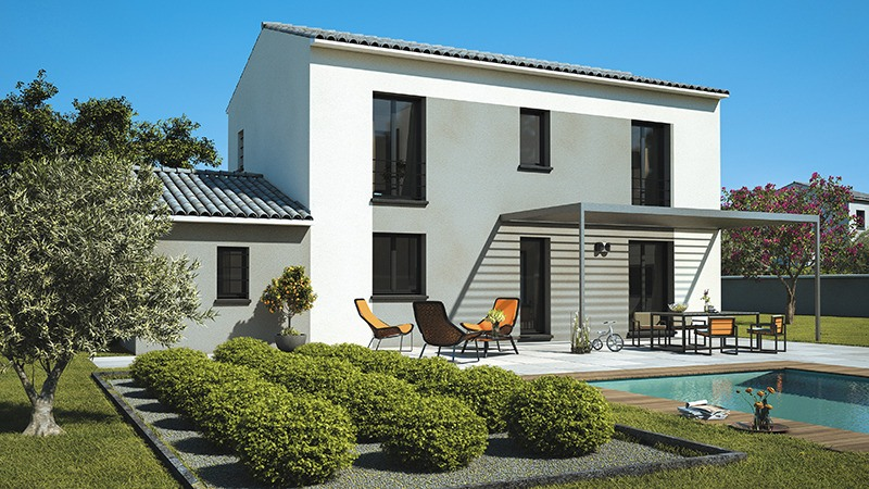 Maisons + Terrains du constructeur MAISONS DE MANON • 100 m² • PIOLENC