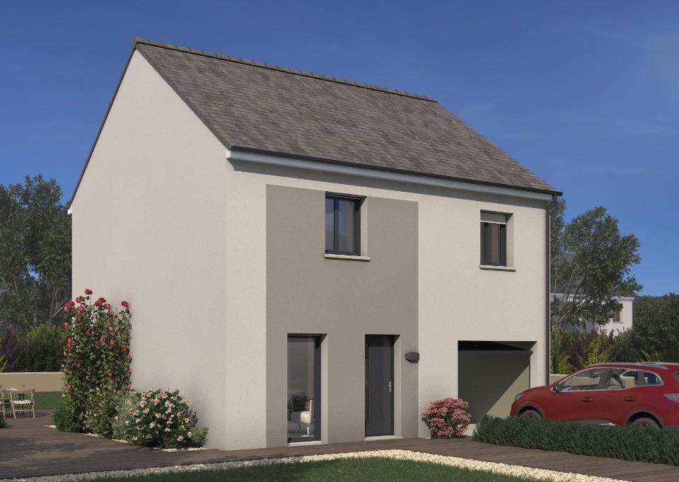 Maisons + Terrains du constructeur MAISONS FRANCE CONFORT • 89 m² • LIMETZ VILLEZ