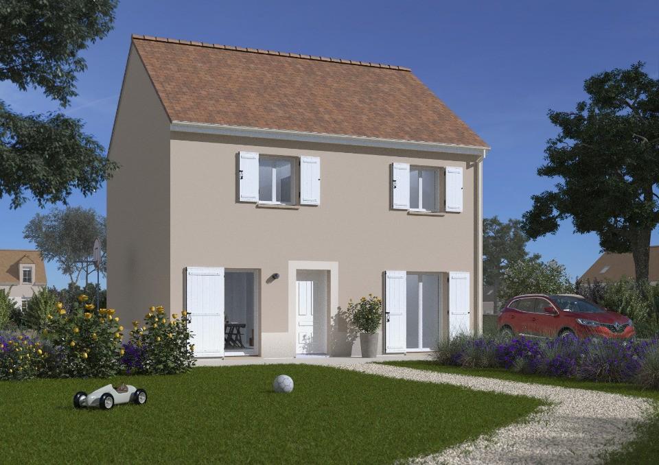 Maisons + Terrains du constructeur MAISONS FRANCE CONFORT • 102 m² • SAINT MARTIN LA GARENNE