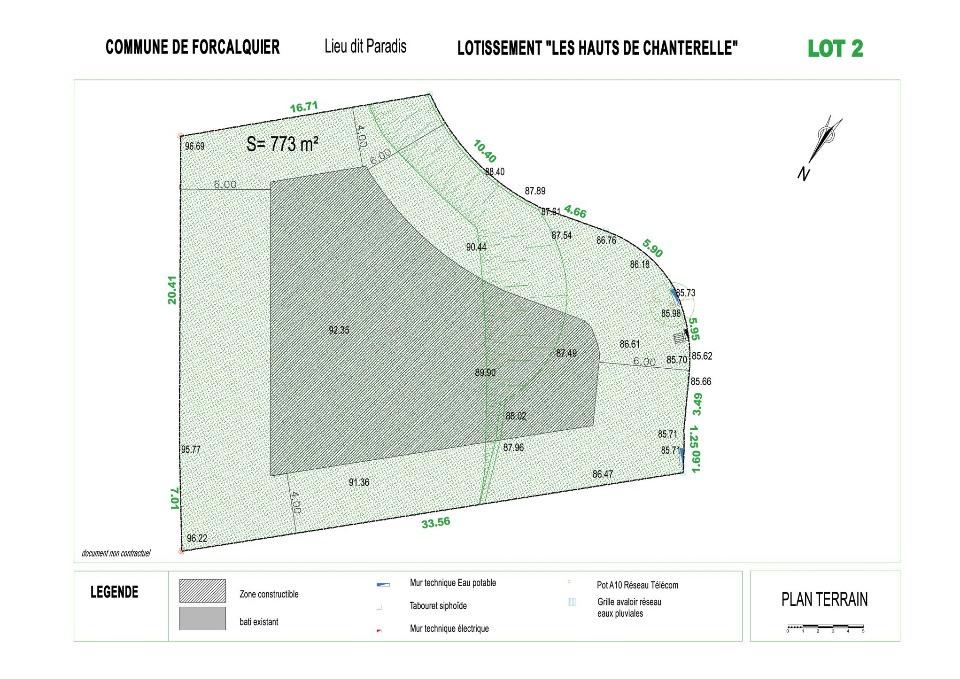 Terrains du constructeur LES MAISONS DE MANON • 773 m² • FORCALQUIER