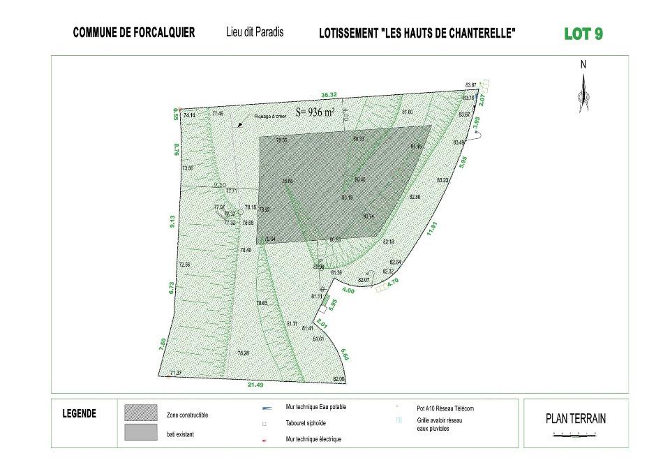 Terrains du constructeur LES MAISONS DE MANON • 936 m² • FORCALQUIER