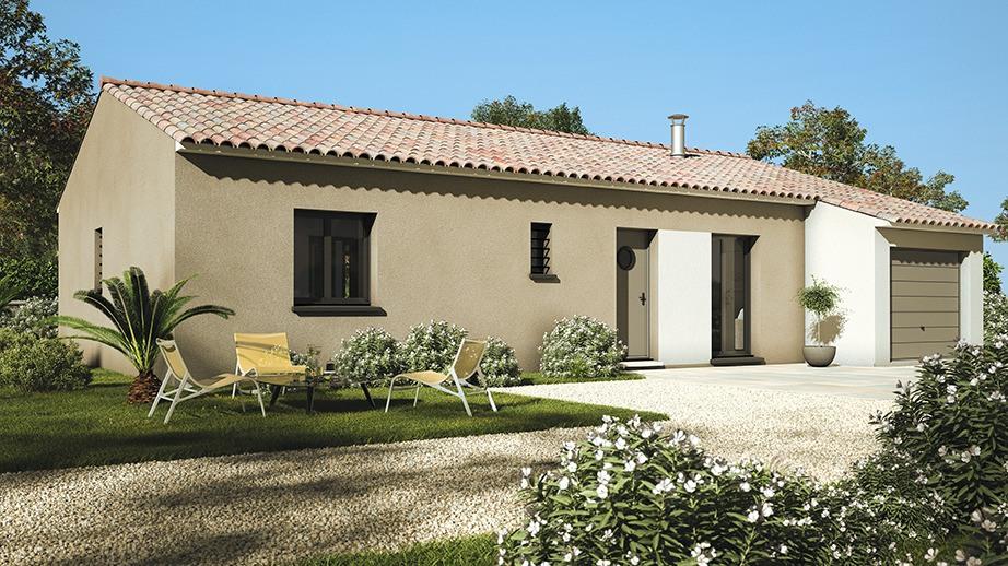 Maisons + Terrains du constructeur LES MAISONS DE MANON • 80 m² • PIERREVERT