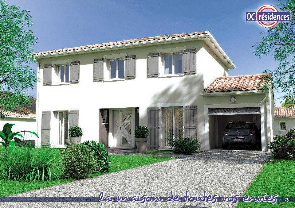 Maisons + Terrains du constructeur OC RESIDENCES - MAZAMET • 121 m² • MAZAMET