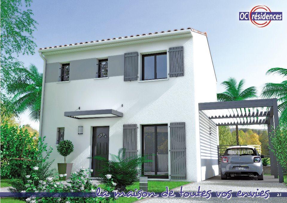 Maisons + Terrains du constructeur OC RESIDENCES - MAZAMET • 88 m² • AUSSILLON