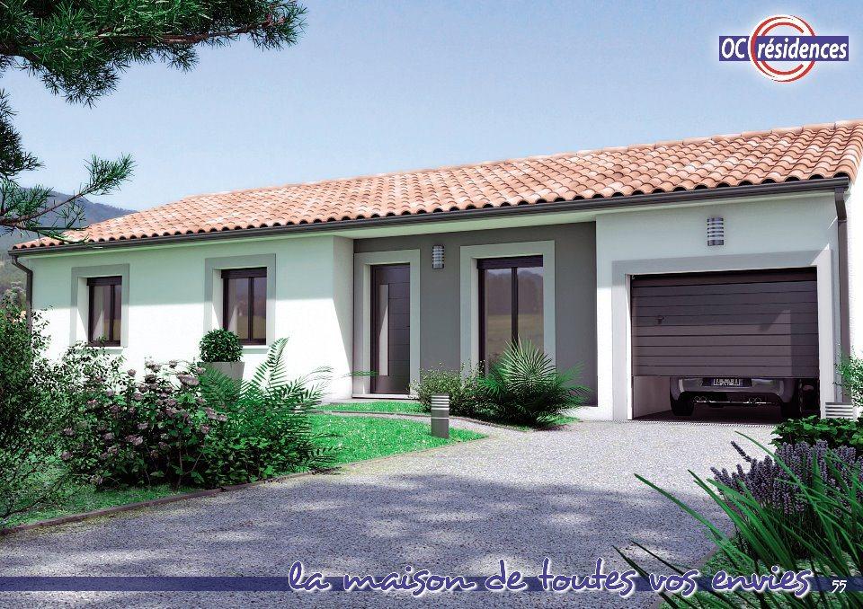 Maisons + Terrains du constructeur OC RESIDENCES - MAZAMET • 100 m² • PAYRIN AUGMONTEL