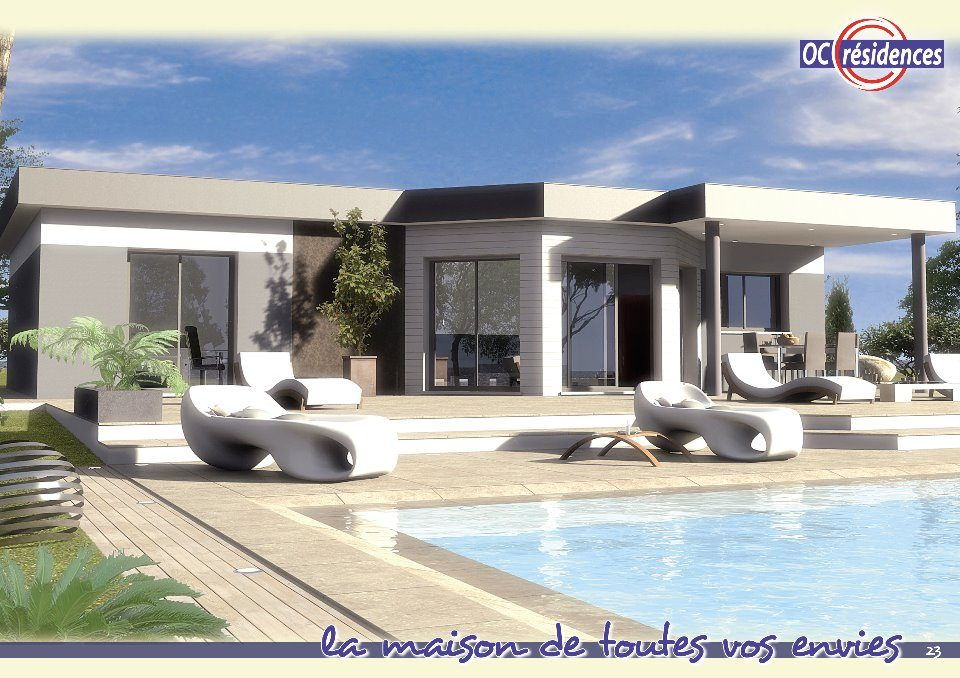 Maisons + Terrains du constructeur OC RESIDENCES - MAZAMET • 109 m² • MAZAMET