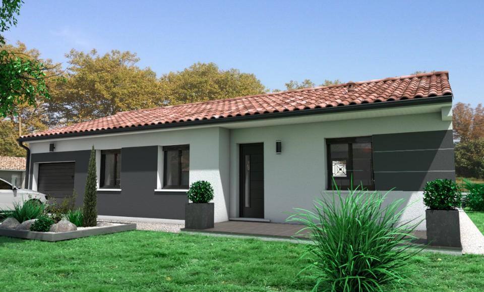 Maisons + Terrains du constructeur OC RESIDENCES - MAZAMET • 80 m² • AUSSILLON