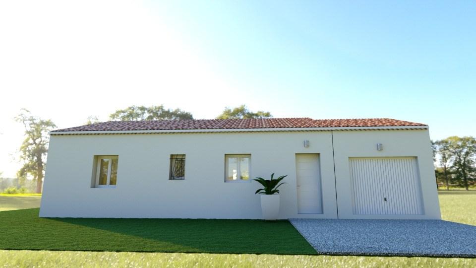 Maisons + Terrains du constructeur MAISONS FRANCE CONFORT • 80 m² • CHAROLS