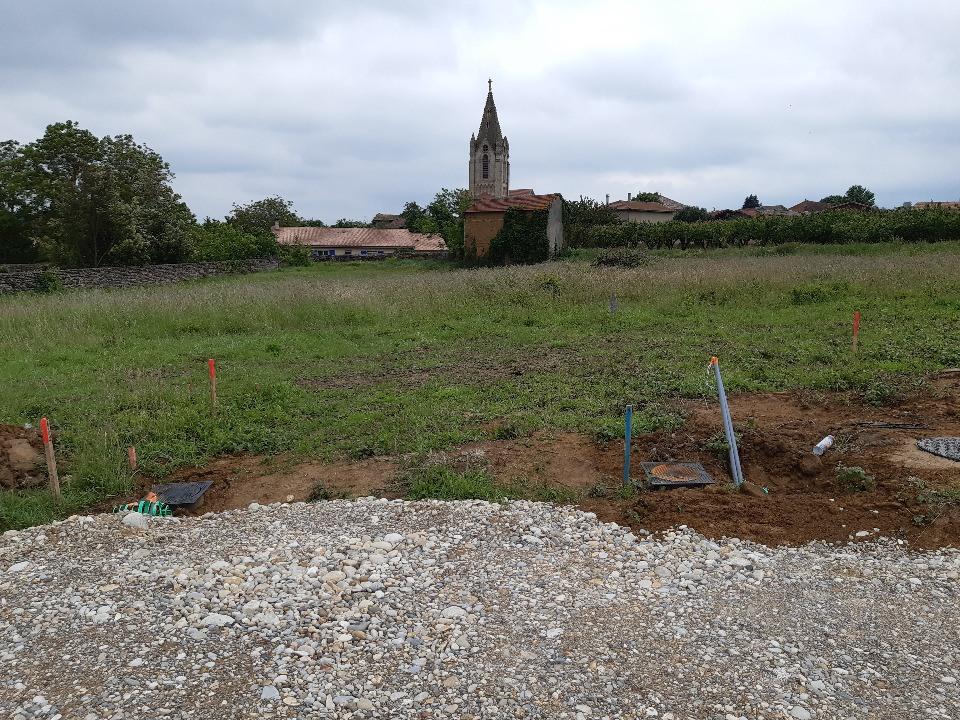 Terrains du constructeur MAISONS FRANCE CONFORT • 500 m² • CHATEAUNEUF DE GALAURE