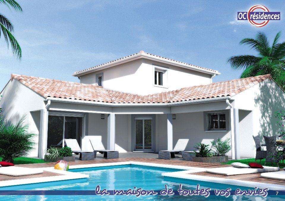 Maisons + Terrains du constructeur OC RESIDENCES - NARBONNE • 120 m² • LEZIGNAN CORBIERES