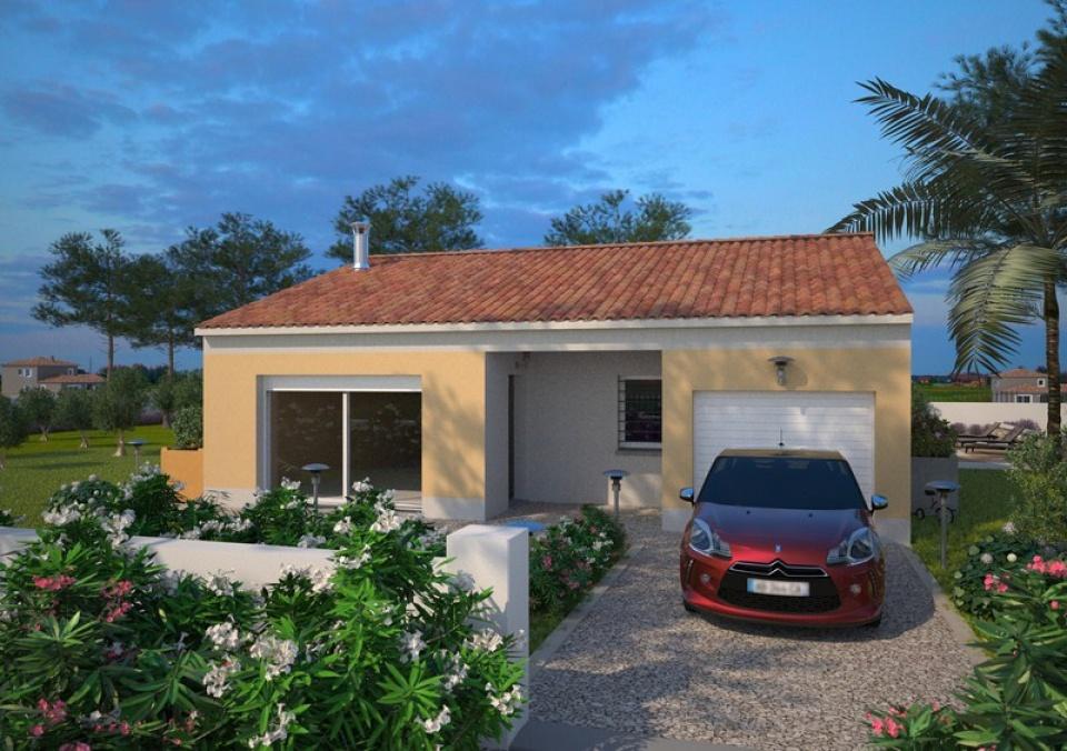 Maisons + Terrains du constructeur MAISONS BALENCY • 73 m² • ROUJAN