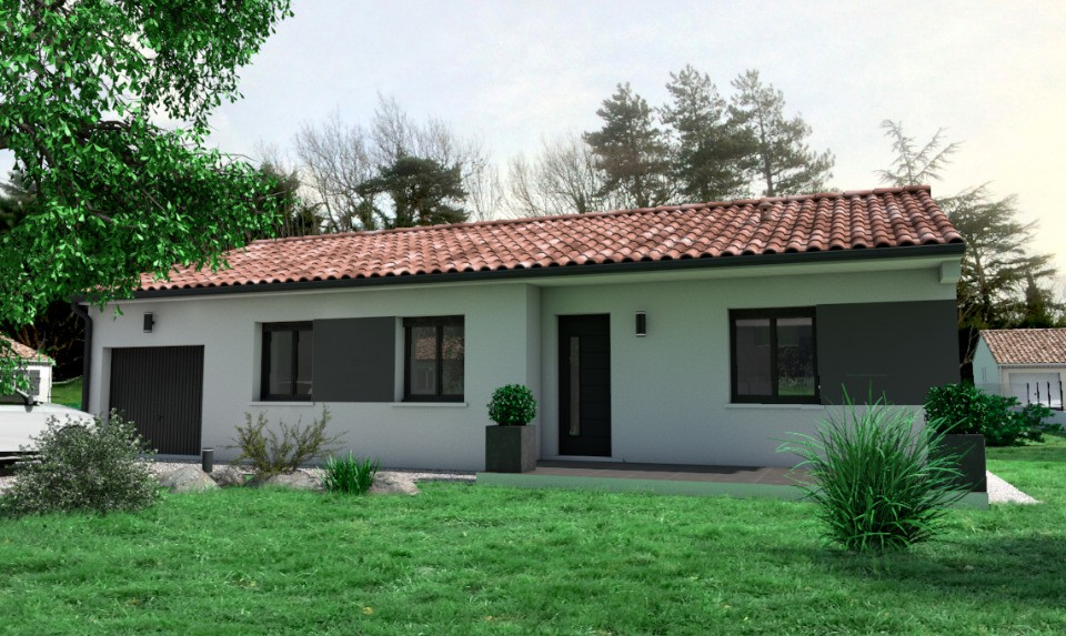 Maisons + Terrains du constructeur OC RESIDENCES • 88 m² • REVEL