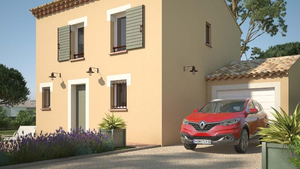 Maisons + Terrains du constructeur MAISONS FRANCE CONFORT • 78 m² • AIX EN PROVENCE
