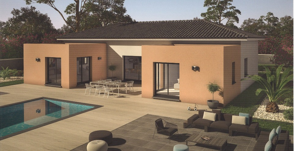 Maisons + Terrains du constructeur MAISONS FRANCE CONFORT • 140 m² • SALON DE PROVENCE