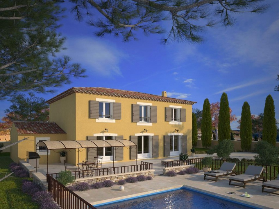 Maisons du constructeur MAISONS FRANCE CONFORT • 100 m² • FIGANIERES