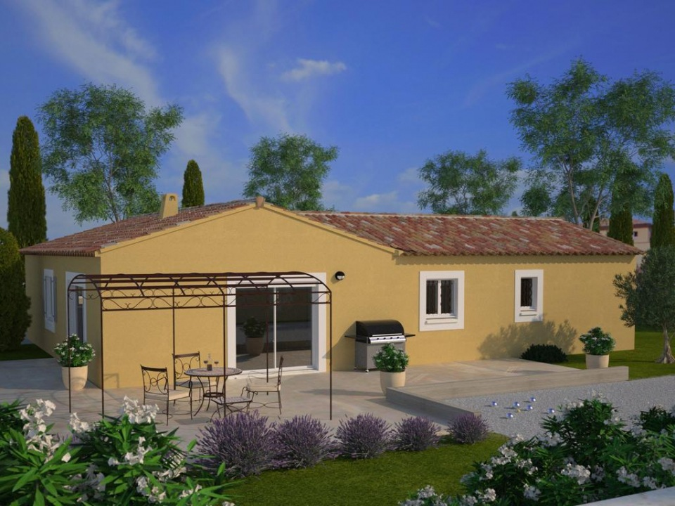 Maisons + Terrains du constructeur MAISONS FRANCE CONFORT • 100 m² • LE LUC