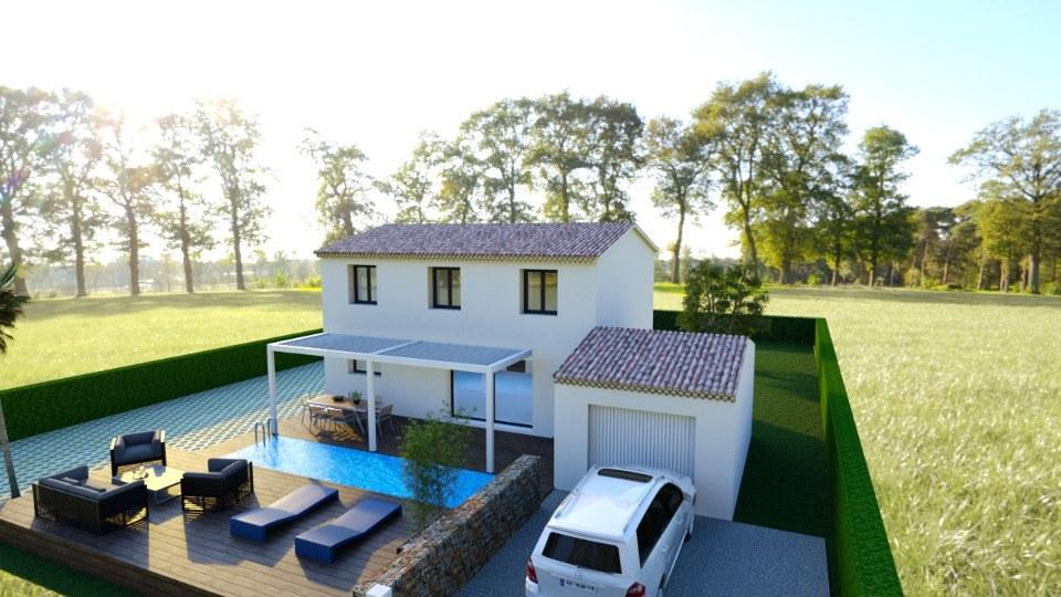 Maisons + Terrains du constructeur MAISONS FRANCE CONFORT • 117 m² • SAINT ANTONIN DU VAR