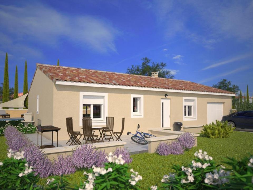 Maisons + Terrains du constructeur MAISONS FRANCE CONFORT • 80 m² • VIDAUBAN