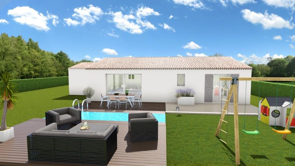 Maisons + Terrains du constructeur MAISONS FRANCE CONFORT • 100 m² • SALERNES