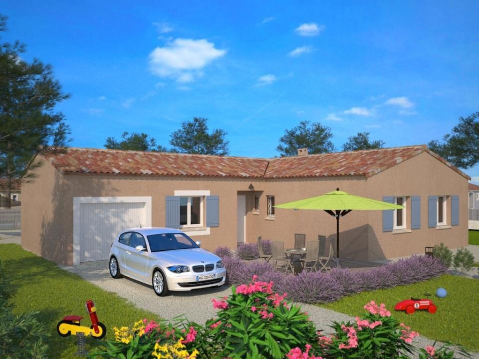 Maisons + Terrains du constructeur MAISONS FRANCE CONFORT • 90 m² • LE CANNET DES MAURES