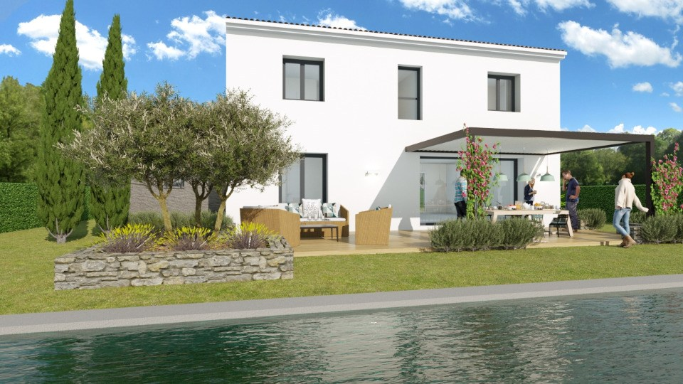 Maisons + Terrains du constructeur MAISONS FRANCE CONFORT • 90 m² • TRANS EN PROVENCE