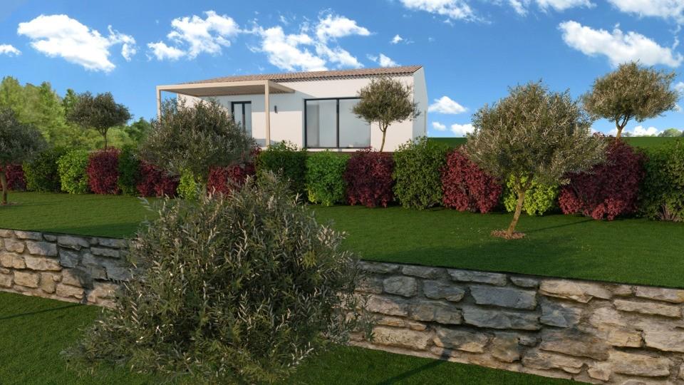 Maisons + Terrains du constructeur MAISONS FRANCE CONFORT • 85 m² • VIDAUBAN