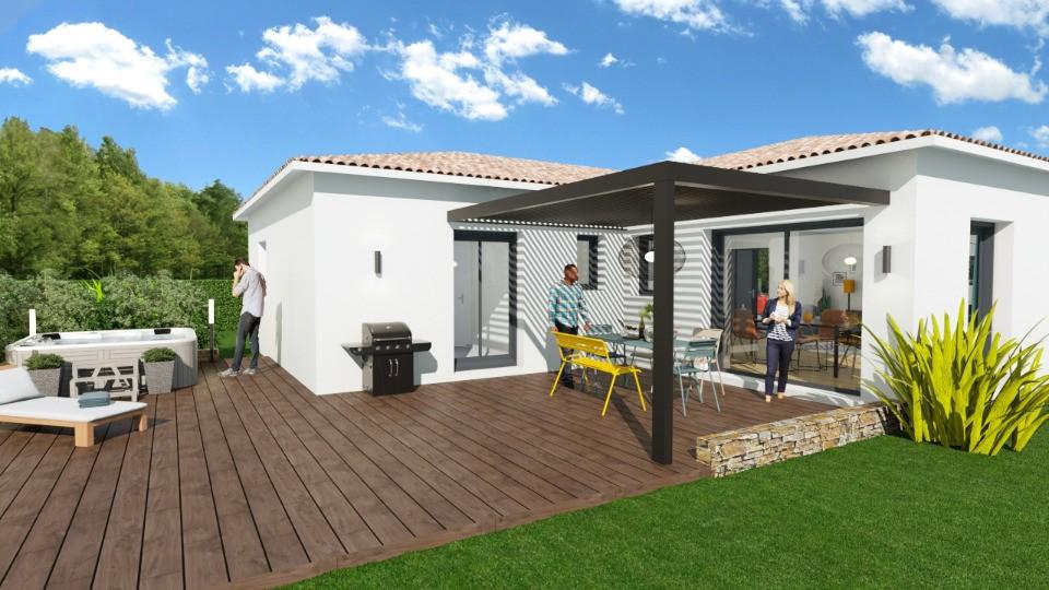 Maisons + Terrains du constructeur MAISONS FRANCE CONFORT • 90 m² • MONTFORT SUR ARGENS