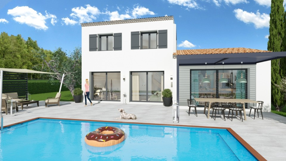 Maisons + Terrains du constructeur MAISONS FRANCE CONFORT • 95 m² • VIDAUBAN