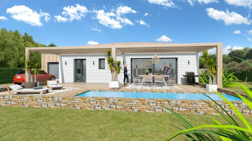 Maisons + Terrains du constructeur MAISONS FRANCE CONFORT • 83 m² • MONTFORT SUR ARGENS