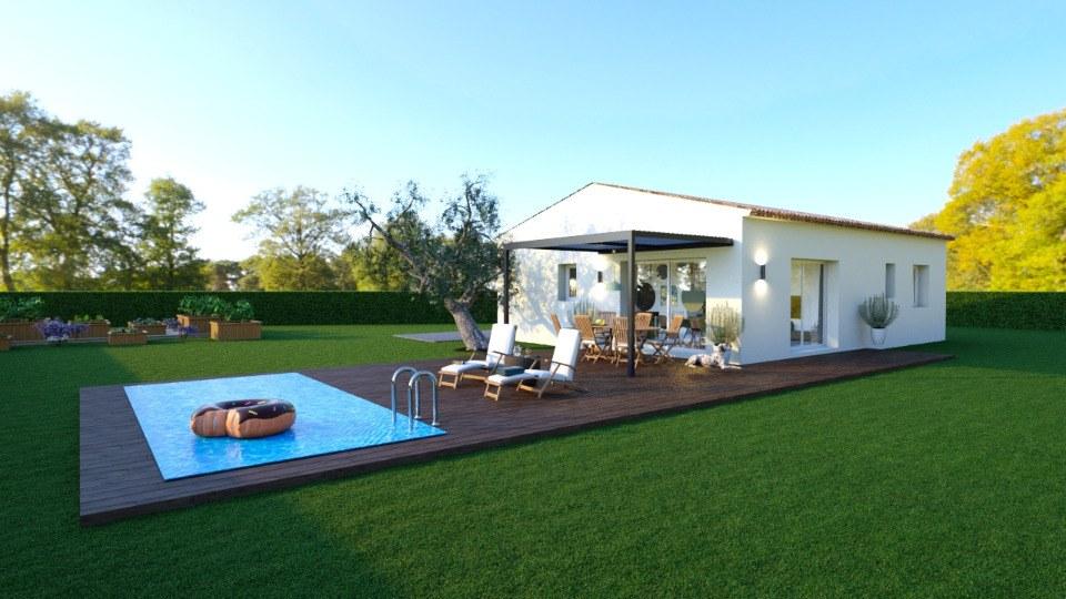 Maisons + Terrains du constructeur MAISONS FRANCE CONFORT • 60 m² • VIDAUBAN