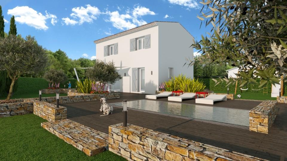 Maisons + Terrains du constructeur MAISONS FRANCE CONFORT • 83 m² • LE CANNET DES MAURES