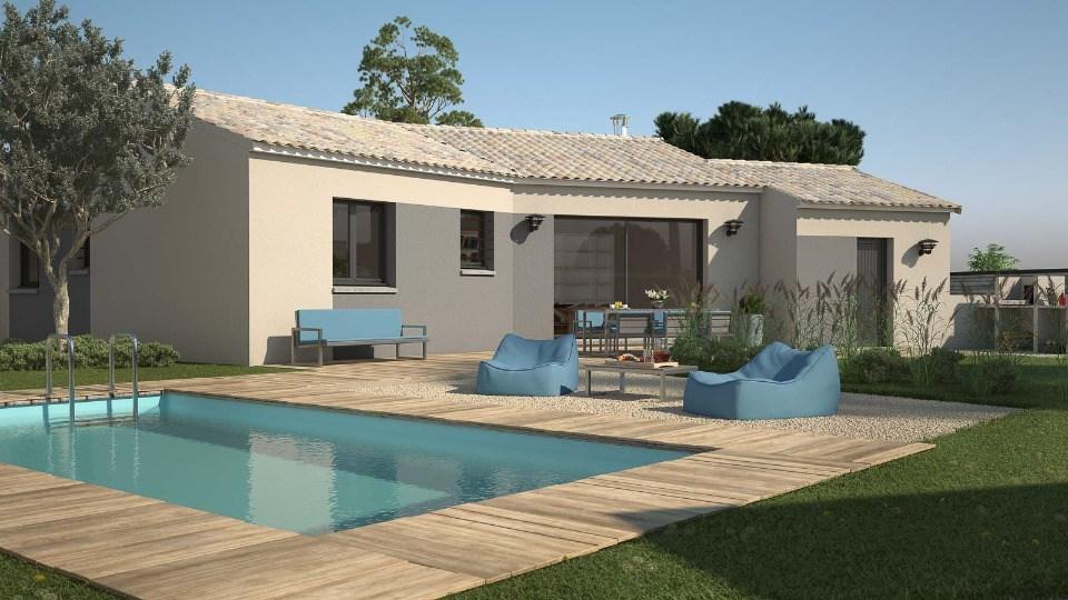 Maisons + Terrains du constructeur LES MAISONS DE MANON • 90 m² • LEDIGNAN