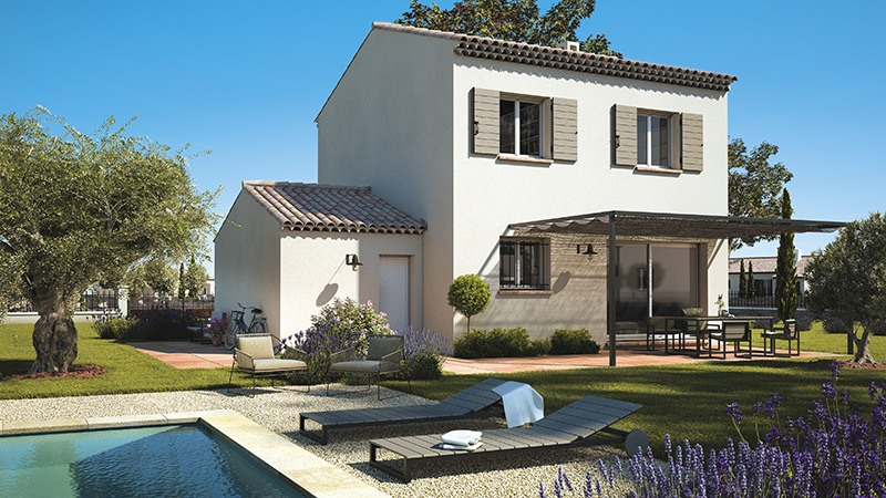 Maisons + Terrains du constructeur LES MAISONS DE MANON • 80 m² • GAJAN
