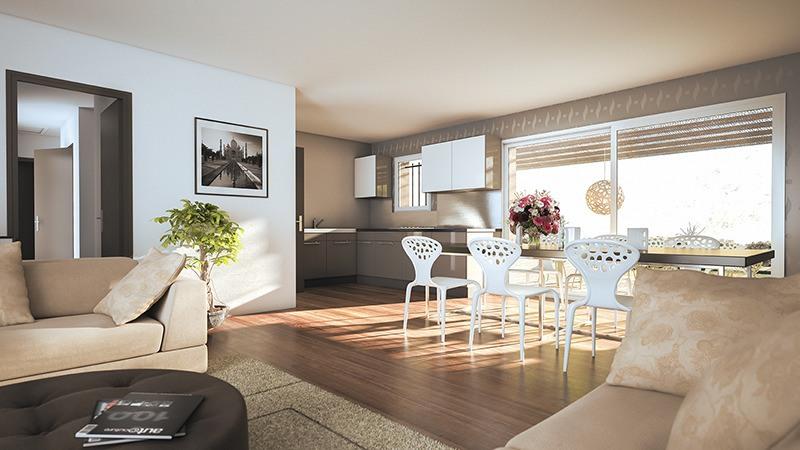 Maisons + Terrains du constructeur LES MAISONS DE MANON • 90 m² • GAILHAN