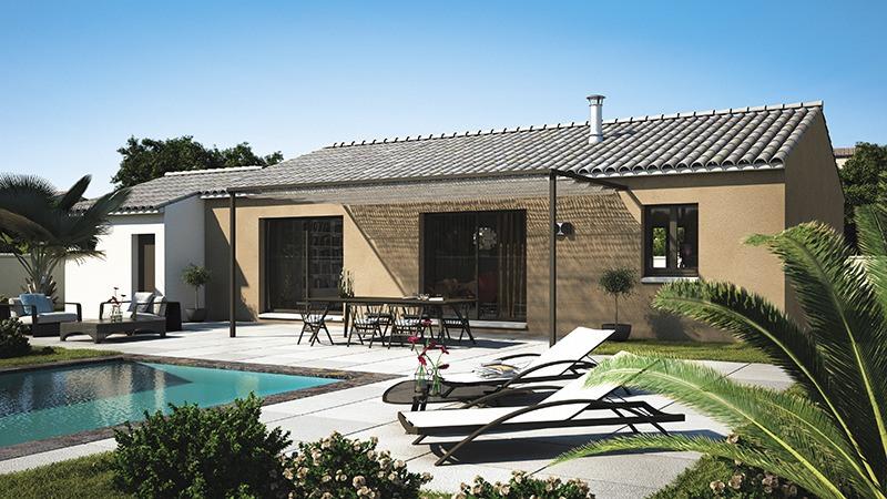 Maisons + Terrains du constructeur LES MAISONS DE MANON • 90 m² • LEZAN