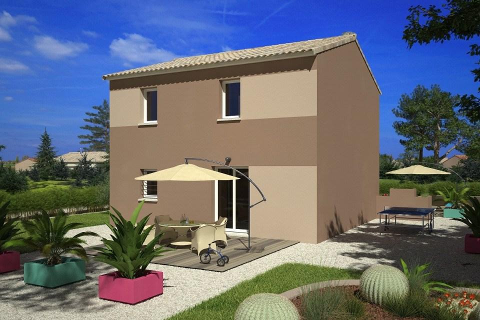 Maisons + Terrains du constructeur LES MAISONS DE MANON • 83 m² • REDESSAN