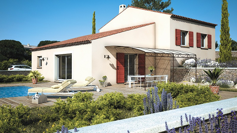 Maisons + Terrains du constructeur LES MAISONS DE MANON • 110 m² • BOISSIERES