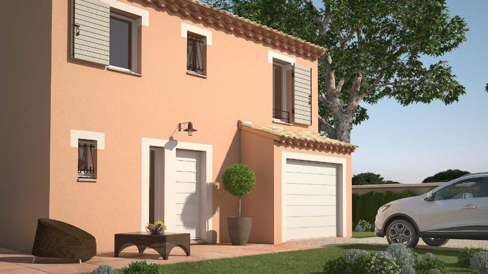 Maisons + Terrains du constructeur LES MAISONS DE MANON • 82 m² • GAJAN