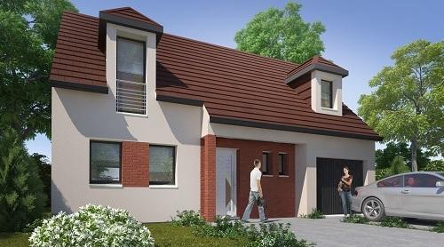 Maisons + Terrains du constructeur HABITAT CONCEPT • 94 m² • COURRIERES