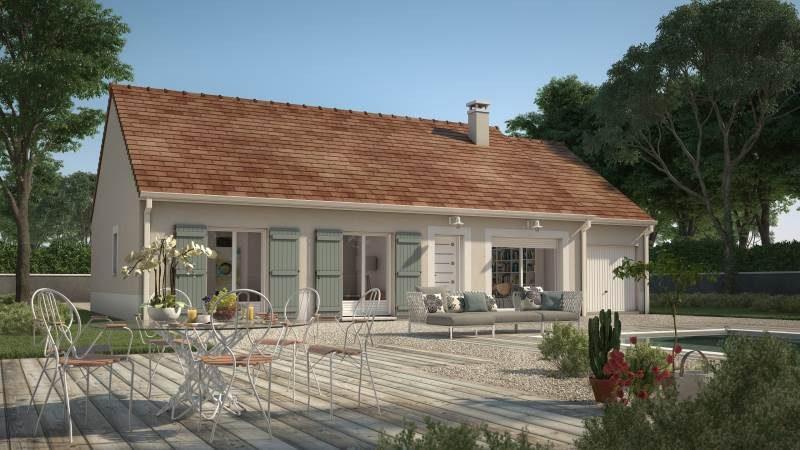 Maisons + Terrains du constructeur MAISONS FRANCE CONFORT • 73 m² • BREUIL LE VERT