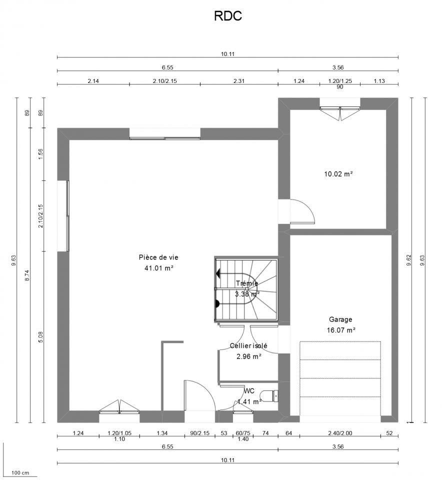 Maisons + Terrains du constructeur MAISON FRANCE CONFORT • 100 m² • DINGY EN VUACHE