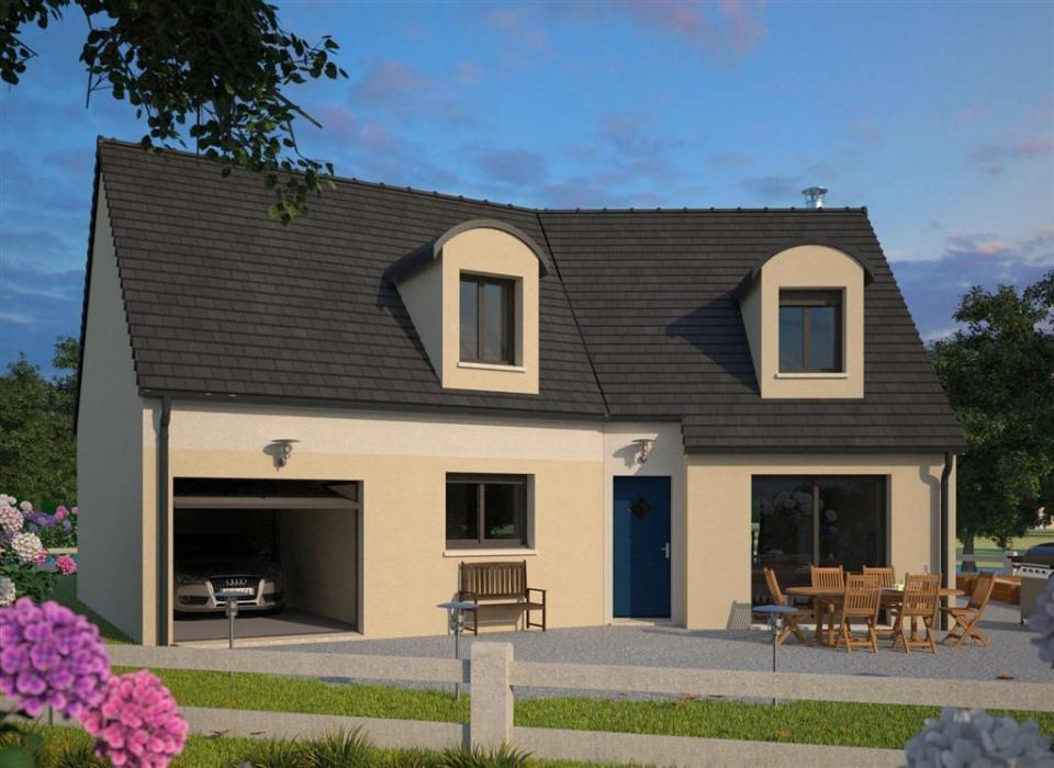 Maisons + Terrains du constructeur MAISONS FRANCE CONFORT • 114 m² • BLENDECQUES