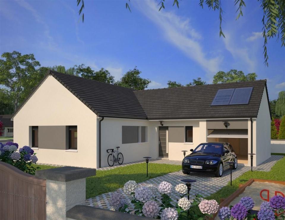 Maisons + Terrains du constructeur MAISONS FRANCE CONFORT • 89 m² • BLENDECQUES