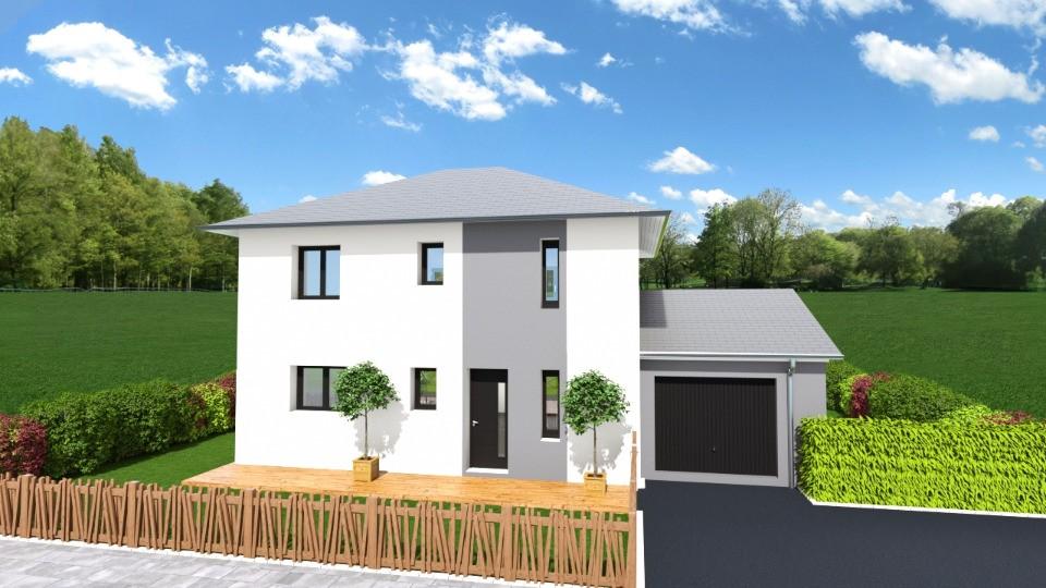 Maisons + Terrains du constructeur MAISON FRANCE CONFORT • 100 m² • MARCIEUX