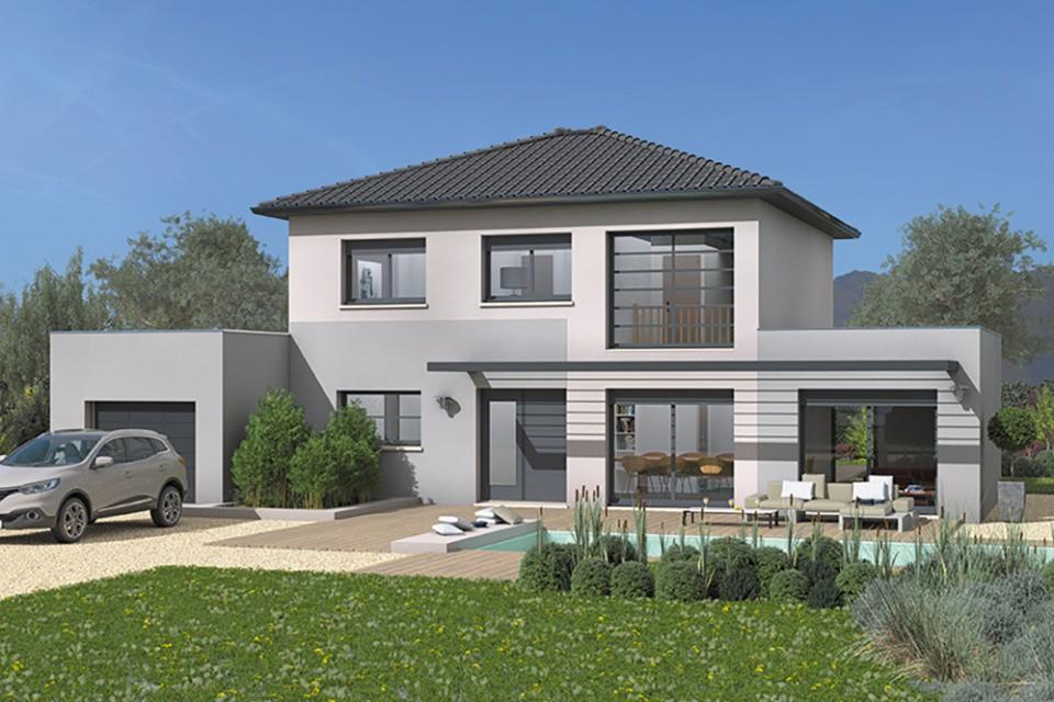 Maisons + Terrains du constructeur MAISON FRANCE CONFORT • 140 m² • MOGNARD