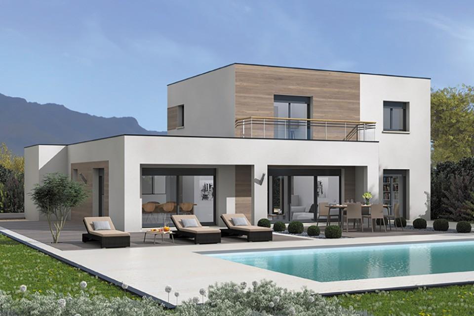 Maisons + Terrains du constructeur MAISON FRANCE CONFORT • 110 m² • SONNAZ