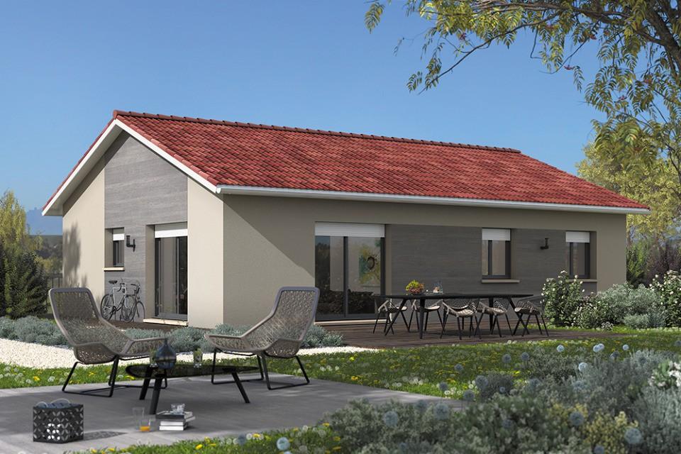 Maisons + Terrains du constructeur MAISON FRANCE CONFORT • 90 m² • AITON