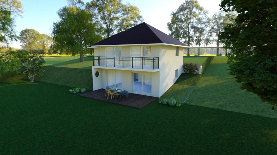 Maisons + Terrains du constructeur MAISONS FRANCE CONFORT • 93 m² • VERTHEMEX