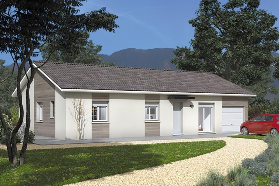 Maisons + Terrains du constructeur MAISONS FRANCE CONFORT • 80 m² • MEYRIEUX TROUET